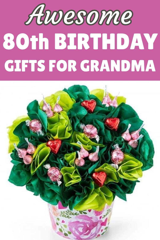 80th Birthday Gift Ideas For Grandma 80th Birthday Gifts