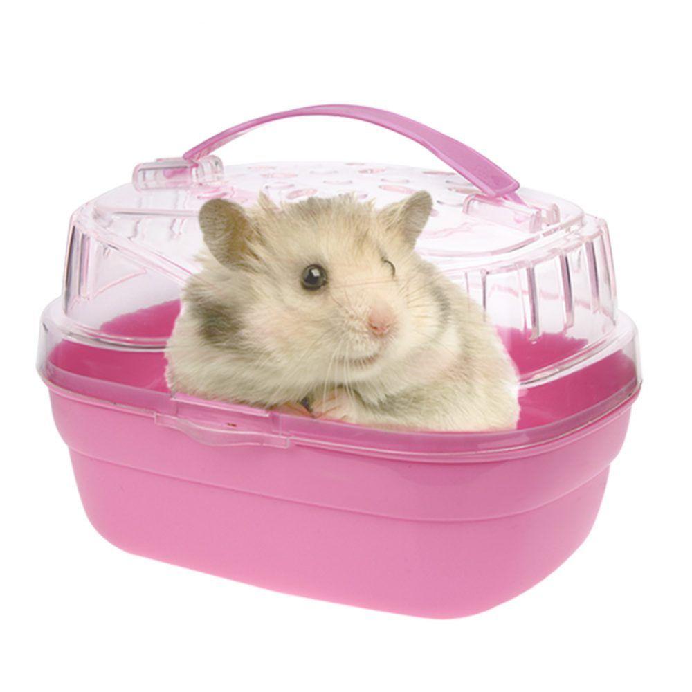 Plastic Transparent Hamster Cage Petsmarketpro Com Small Pets Pet Mice Hamster
