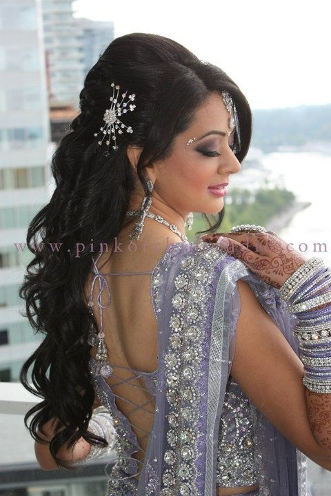Bollywood inspired hairstyles - Google Search | Wedding hairstyles for medium hair, Indian ...