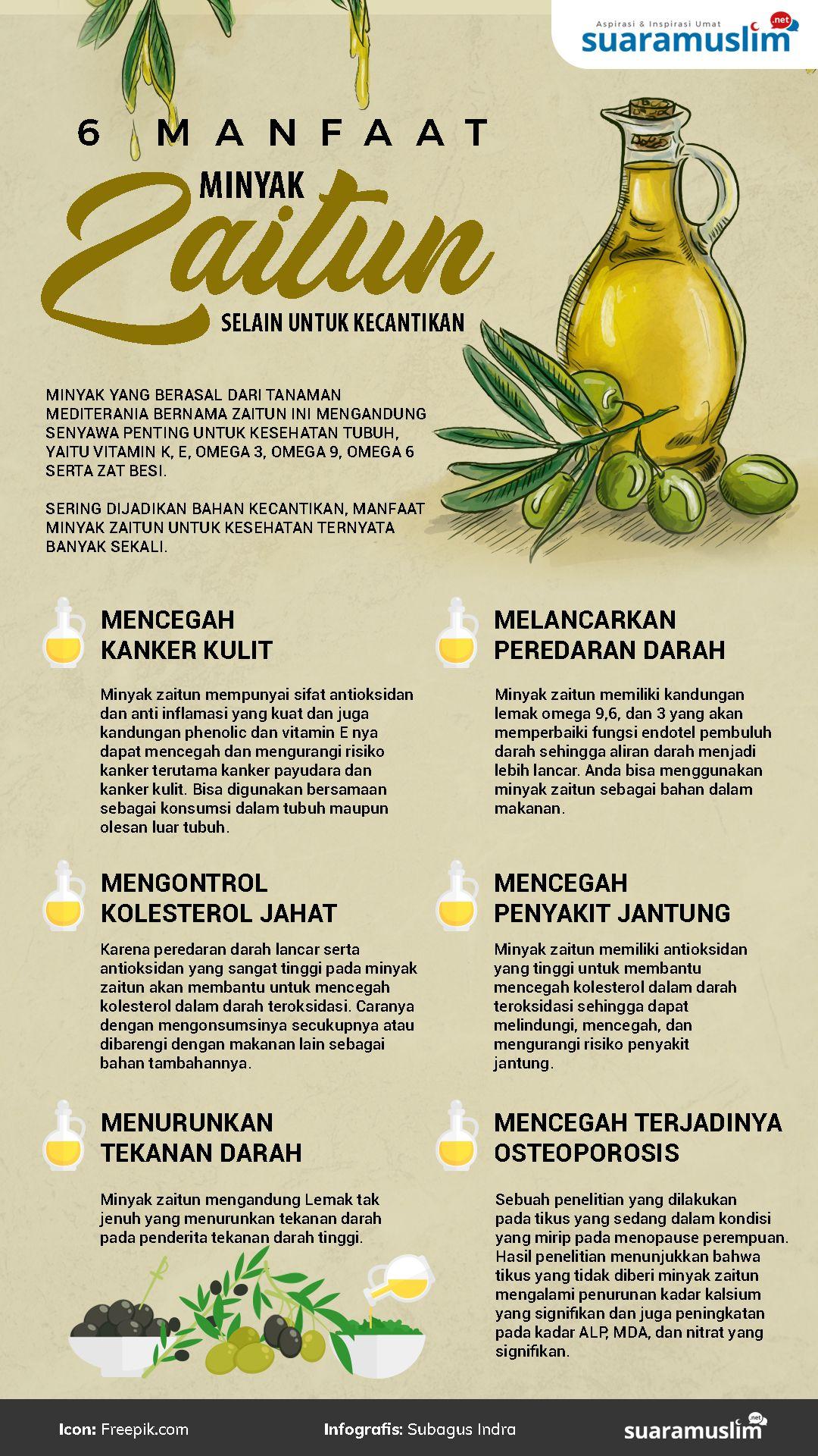 Enam Manfaat Minyak Zaitun Selain Untuk Kecantikan Suara Muslim Minyak Zaitun Zaitun Resep Diet Sehat