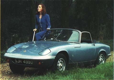 The Avengers Diana Rigg New Car POSTER