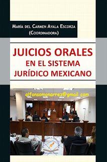 Libros En Derecho Juicios Orales En El Sistema Juridico Mexicano Pen Derecho Procesal Penal Libros De Derecho Oral