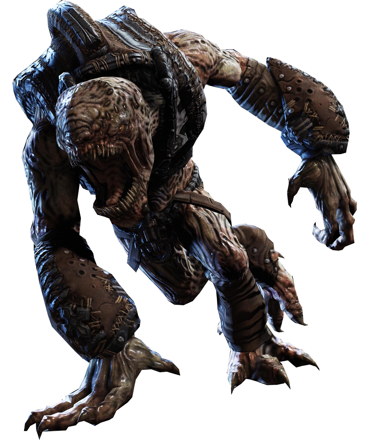 The Wretches From The Gears Of War Series Were Adorable Monkey Dogs