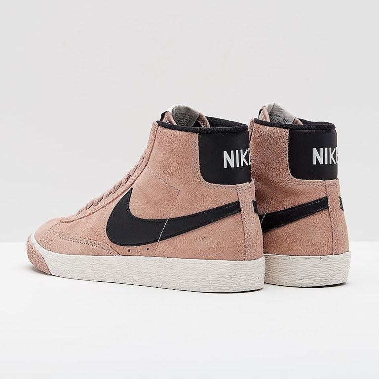 Nike Womens Blazer Mid Vintage Suede - Particle Pink  47c7a1075