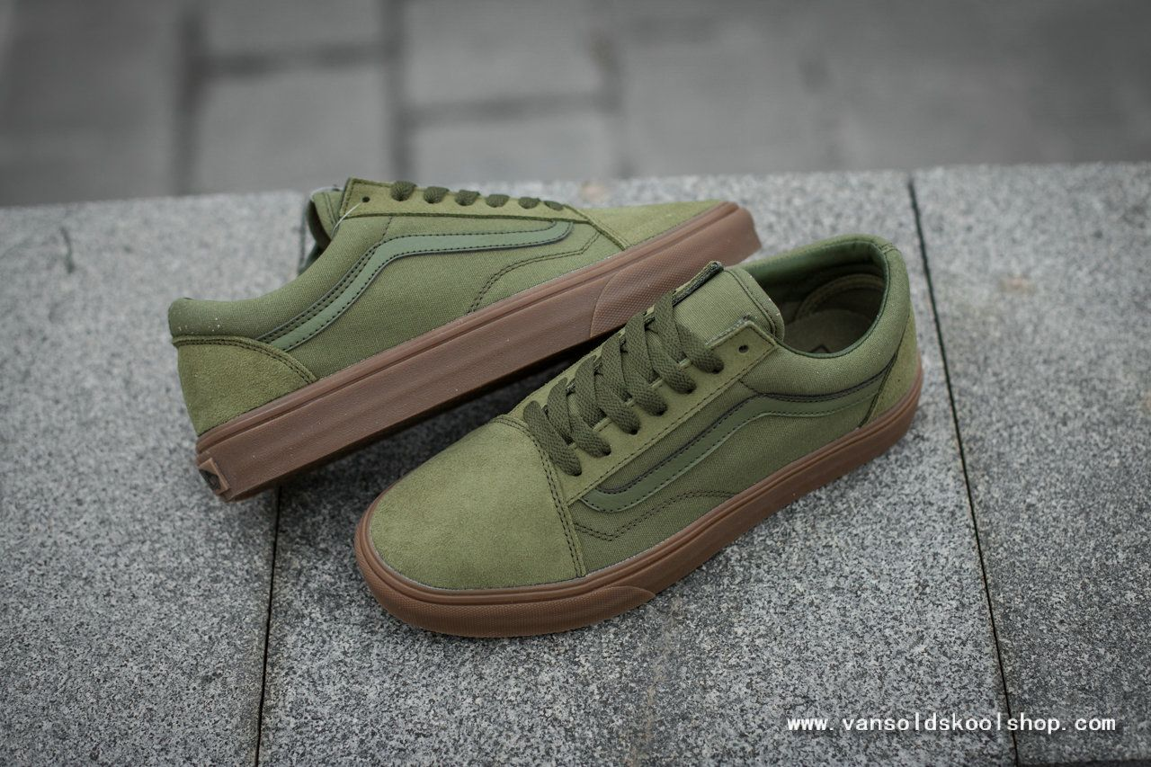 Guarda la ropa medianoche Horno  KIXIFY RECOMMEND VANS CLASSIC OLD SKOOL ARMY GREEN LOW TOPS SKATE SHOE VANS  FOR SALE3   Vans classic old skool, Wholesale nike shoes, Vans classic