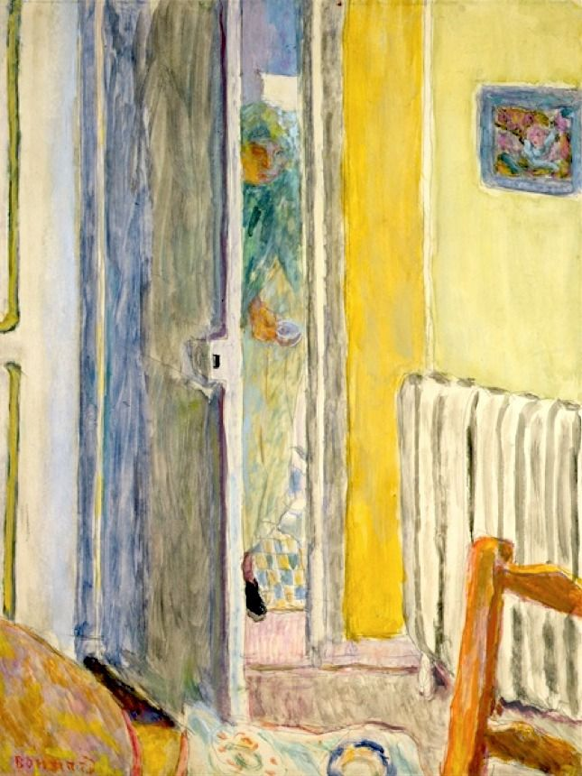 A Woman entering the Living Room, 1942 - Pierre Bonnard