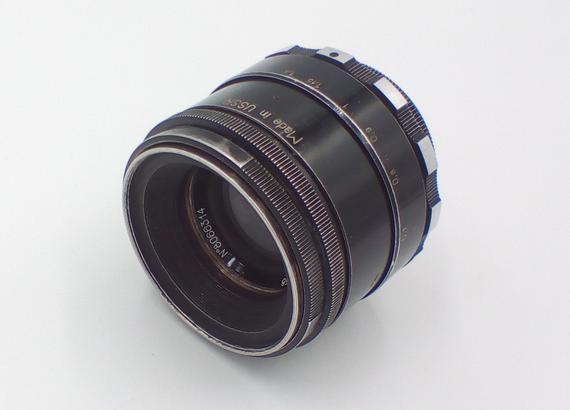 Helios 44 Zebra 58mm F2 Russian Vintage Lens for Sony E NEX