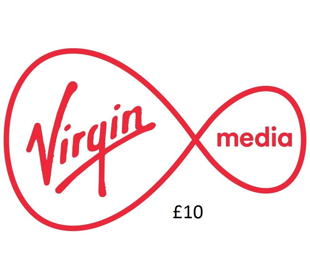 Details about £10 VIRGIN MOBILE TOPUP VOUCHER VIRGIN MOBILE TOP-UP