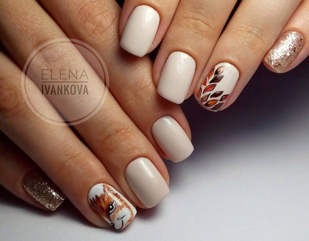 Nail Art #3760 - Best Nail Art Designs Gallery | Autumn nails, Nail ...