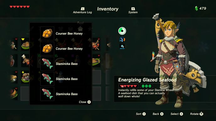 The 10 Best Recipes in Zelda Breath of the Wild