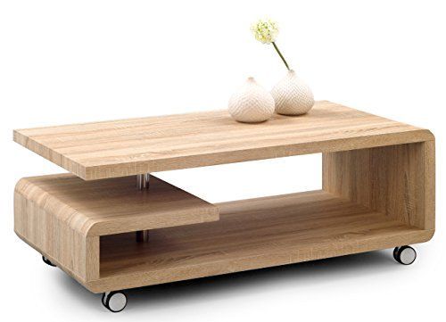 HomeTrends4You 164242 Table basse Chêne imitation Sonoma ... https ...