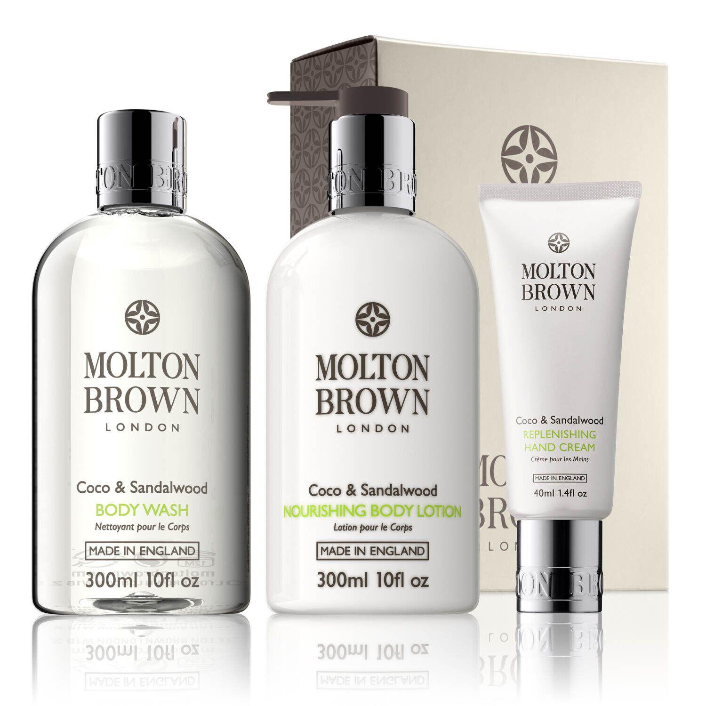 Molton Brown USA Coco & Sandalwood Pamper Gift Set