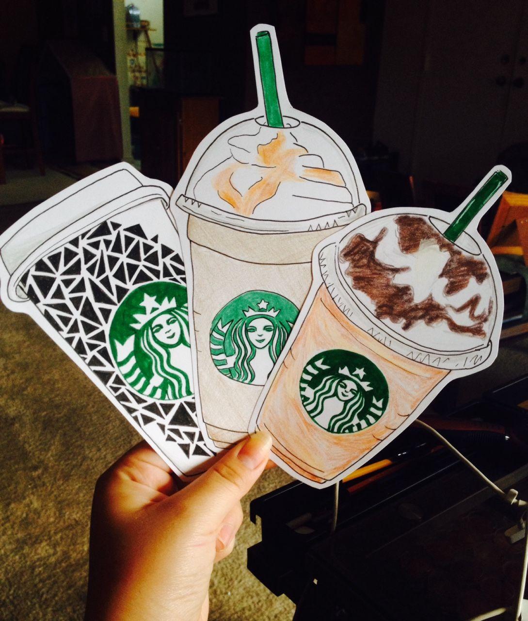Starbucks Frappuccino Drawing