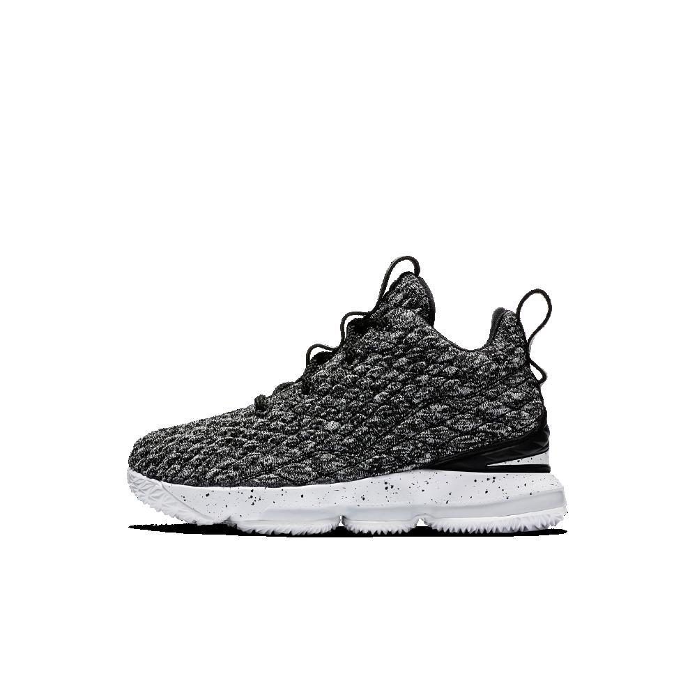 the best attitude 5e483 c4c00 Nike LeBron 15 Little Kids' Shoe Size 2.5Y (Black ...
