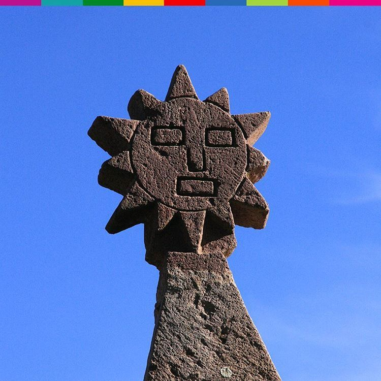 The Symbol Of The Sun Is Sacred In Peru It Is Called Inti In