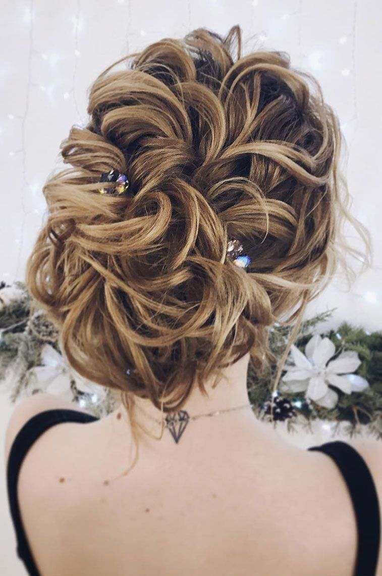 Gorgeous updo wedding hairstyle to inspire you medium length hairs
