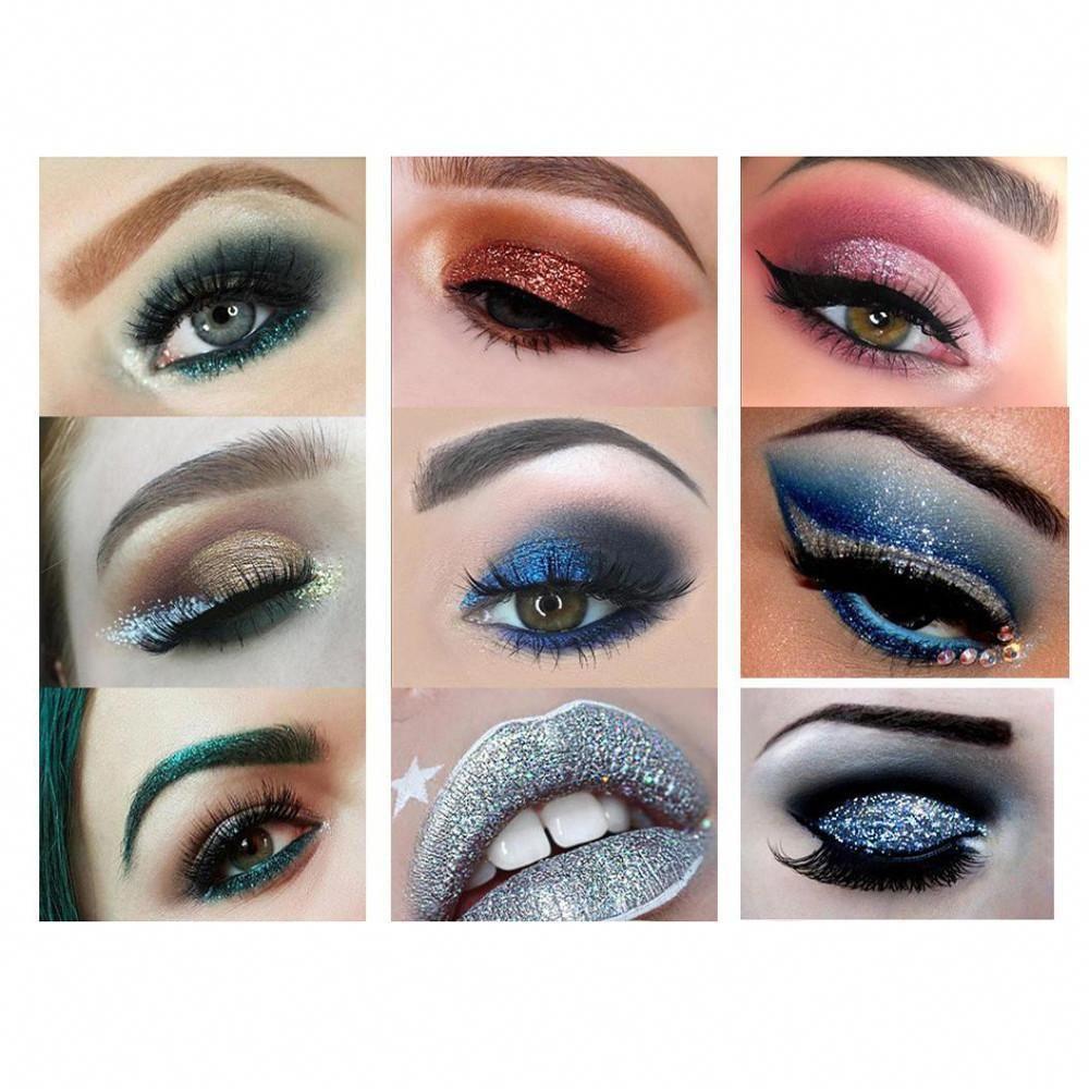 Shimmer Glitter Eye Shadow Powder Palette Matte Eyeshadow