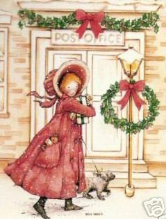 holly hobbie at the post office - Post Office Christmas Hours