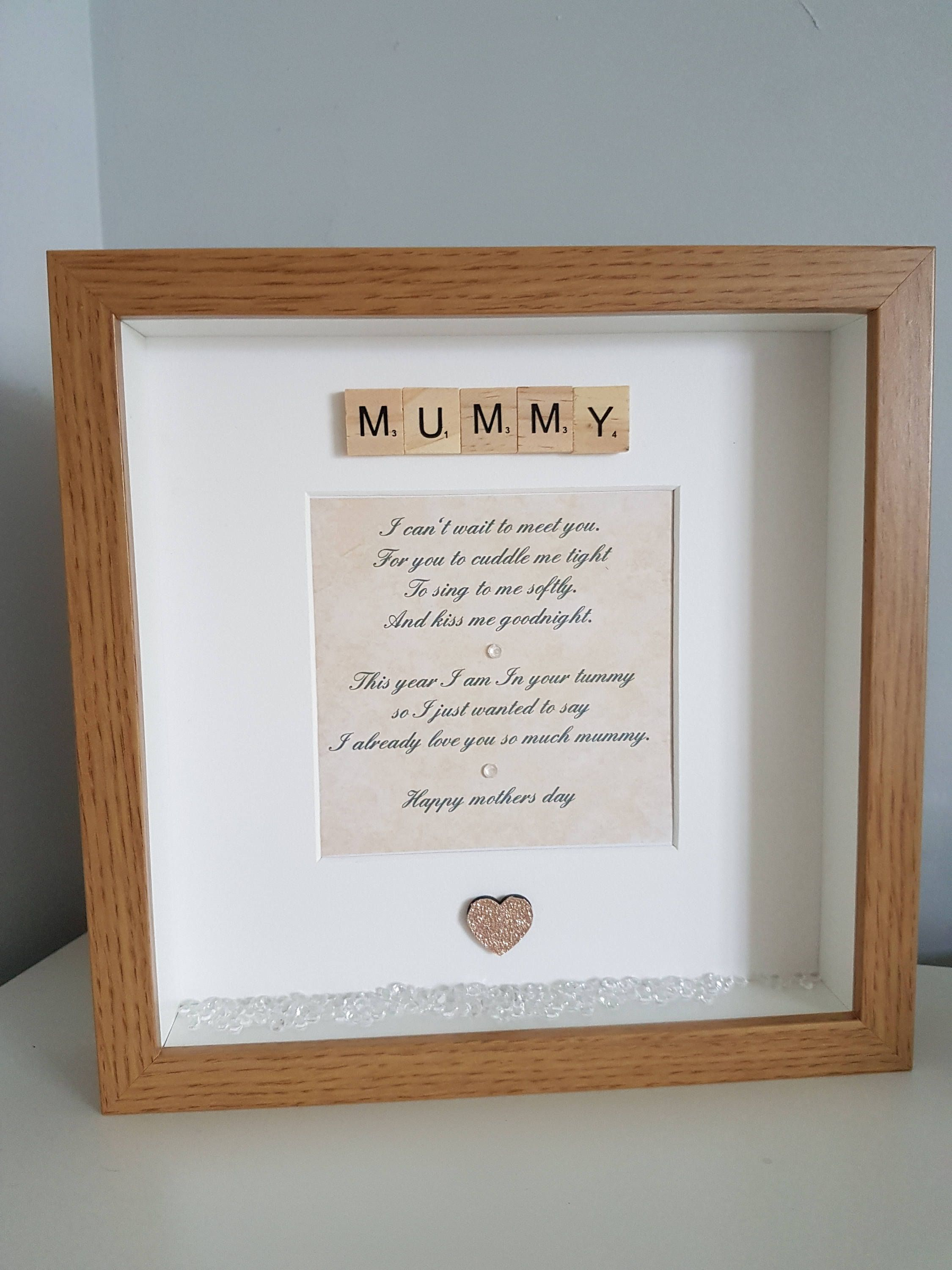 Mummy frame, frame from bump, mummy to be, pregnancy gift, mummy ...