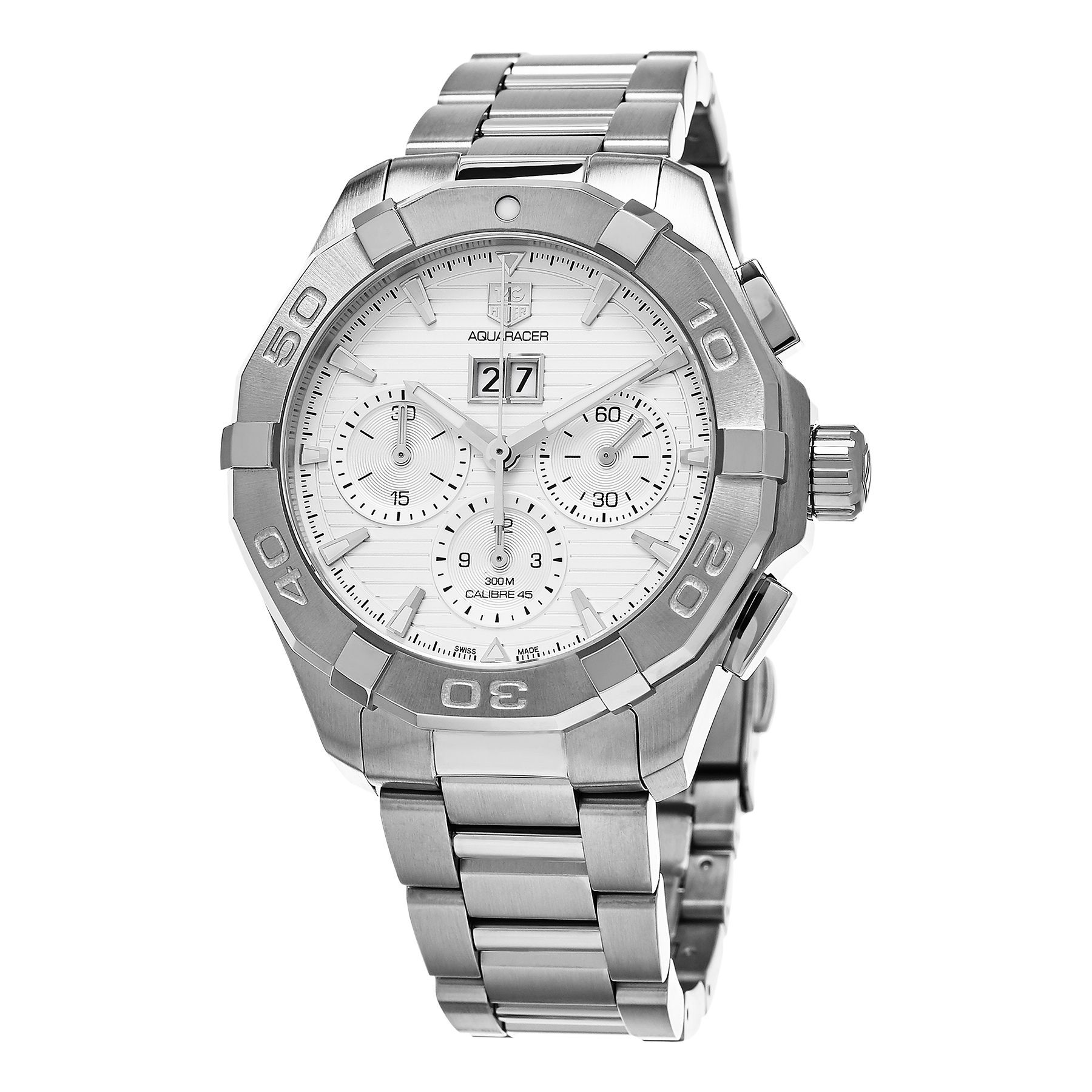 Tag Heuer Men's CAY211Y.BA0926 '300 Aquaracer' Dial Chronograph Swiss Automatic Watch