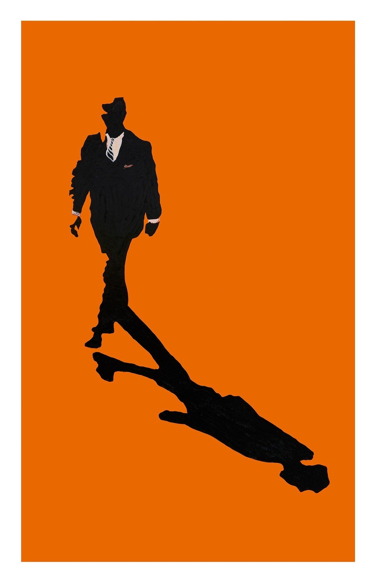 Rosalyn Drexler Me And My Shadow 1966 Acrylic And Paper Collage On Panel 48 X 30 Inches Art Pop Art Art Basel