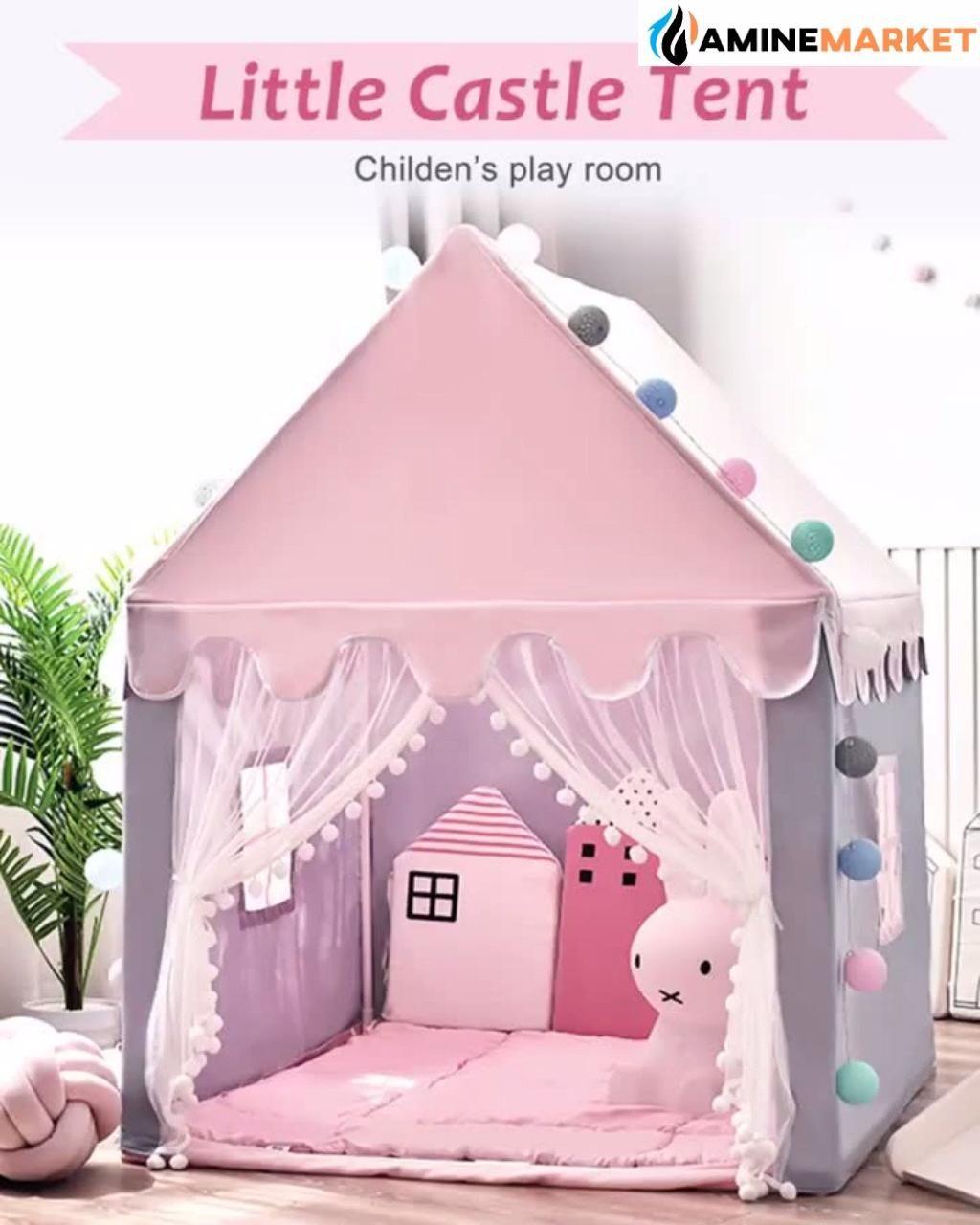 Children Princess Castle Play Tent