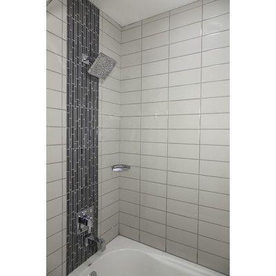 Emser Tile Semplice 6 X 1 Ceramic Quarter Round Tile Trim In Matte Biscuit With Images Tile Trim Shower Tile Designs Bullnose Tile