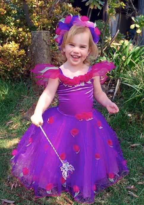 d4234181488c7 Little Gems Australia Roses Summer Mauve Fairy Costume Or Flower Girl Dress  With Matching Wings And Sc 1 St Pinterest