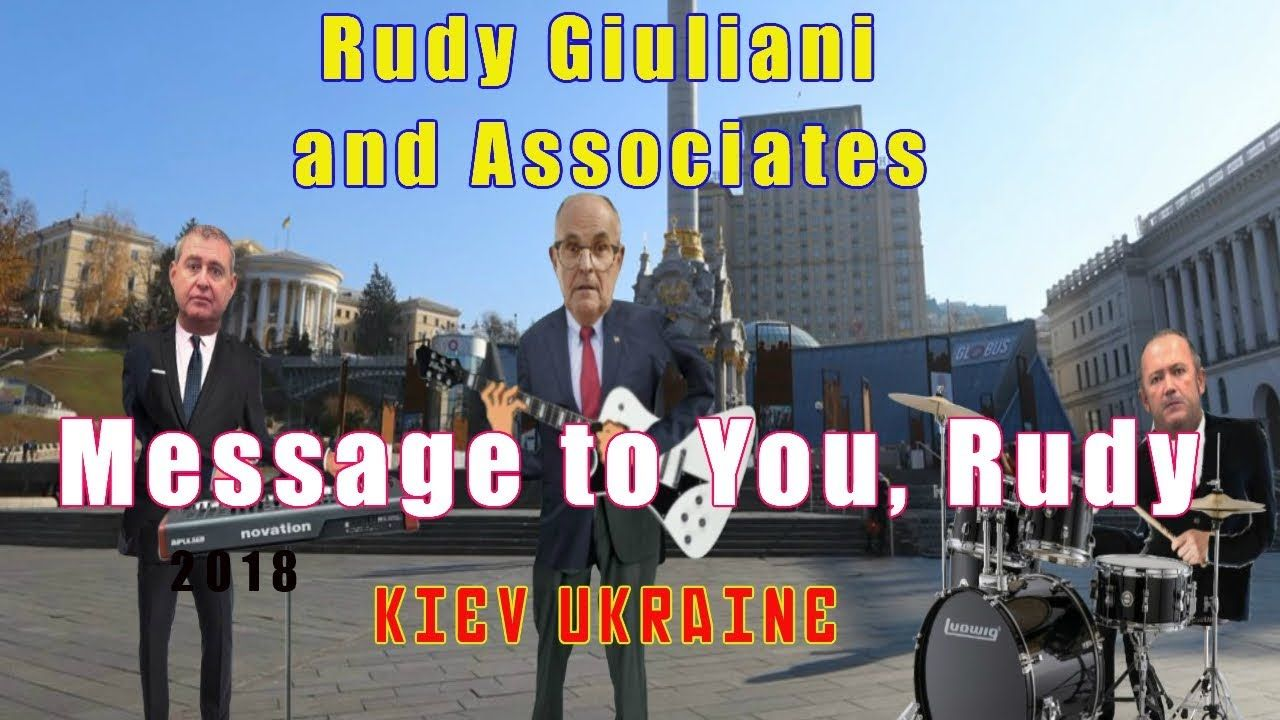 Rudy Giuliani and Associates Perform Message to You, Rudy