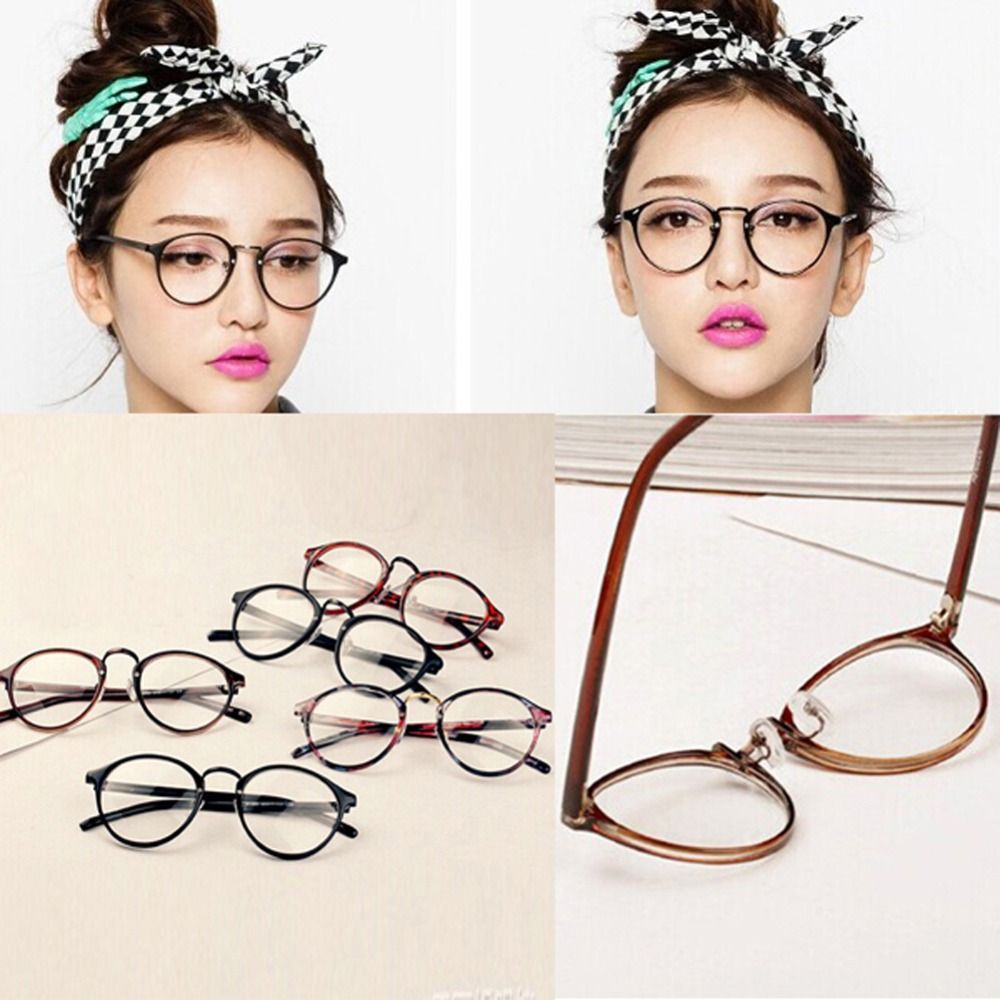 8c832f515f1 Men Women Nerd Glasses Clear Lens Eyewear Unisex Retro Eyeglasses Spectacles   3 Find similar products by clicking the image