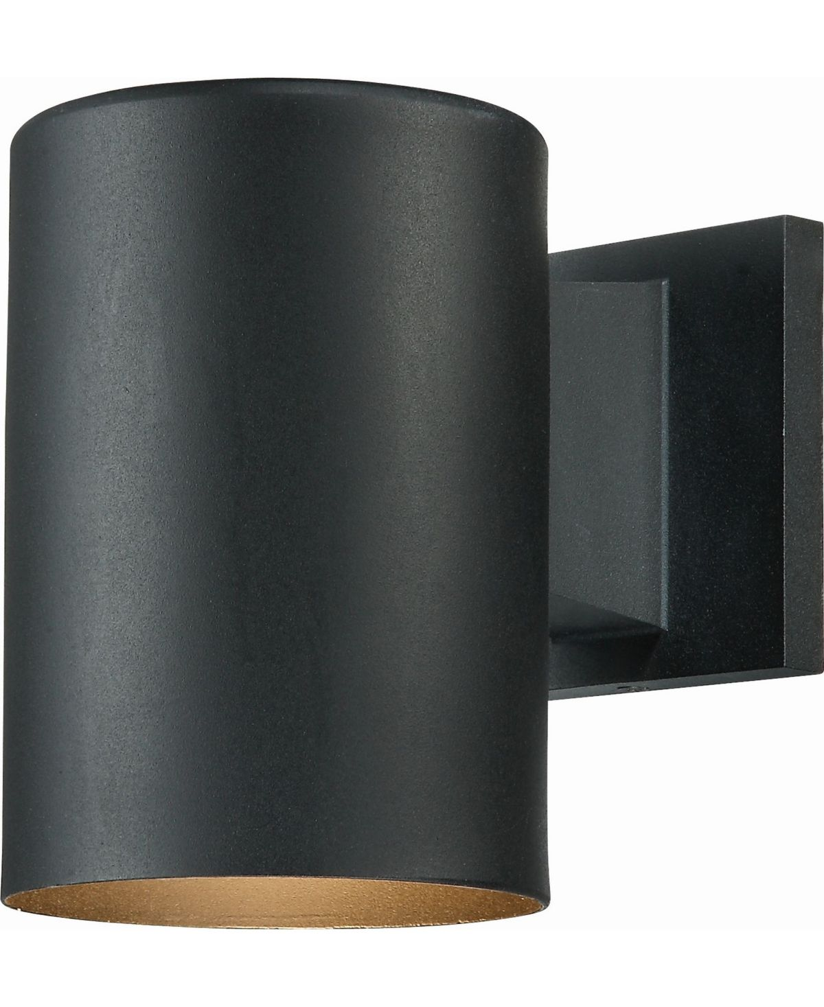 Volume Lighting 1 Light Cylinder Wall Sconce Reviews Home Macy S Black Outdoor Wall Lights Outdoor Wall Lighting Outdoor Sconces