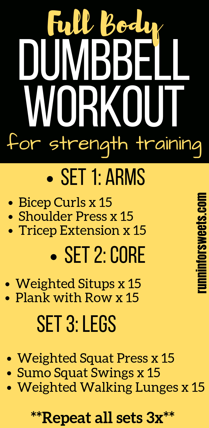 20 Minute Full Body Dumbbell Workout #beginnerarmworkouts