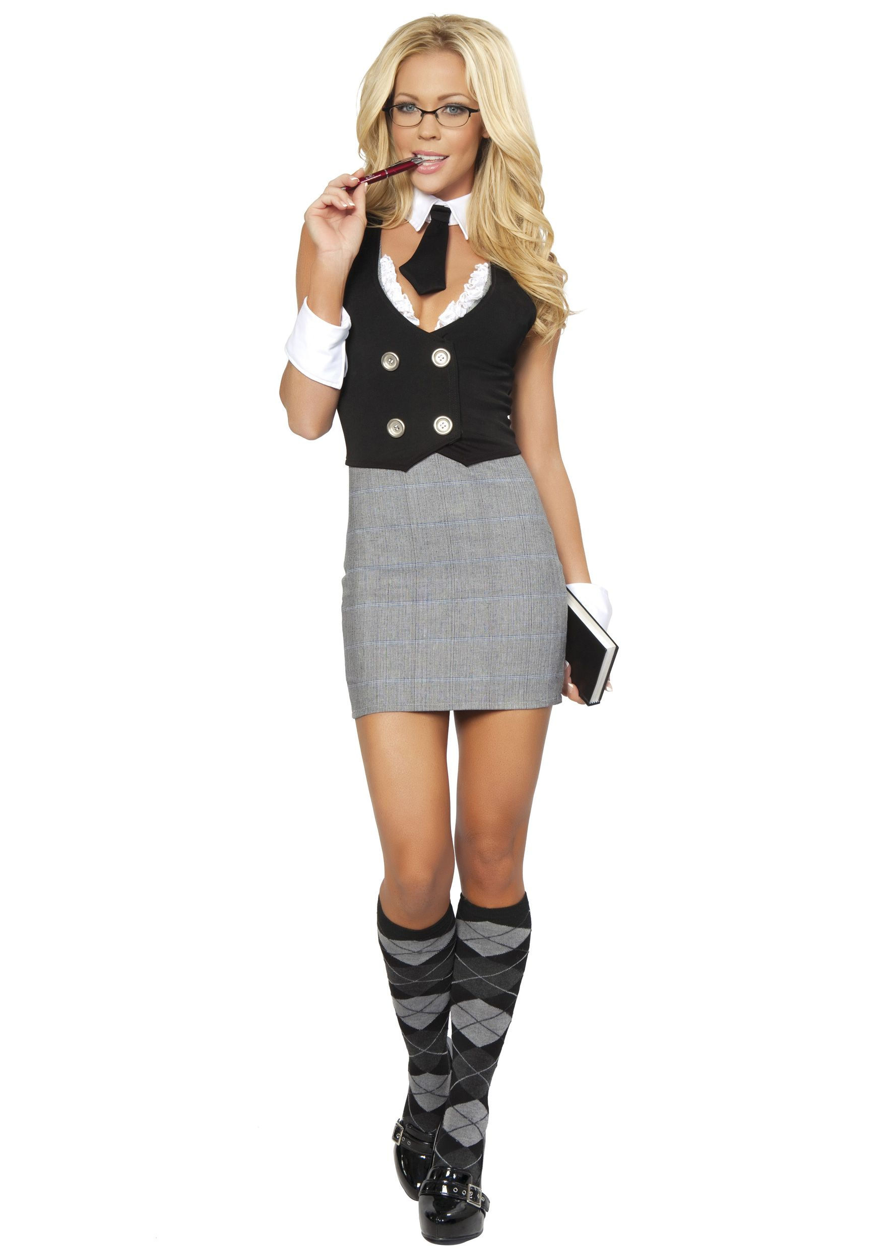 d10a67575a4c Sexy School Teacher Costume | Holiday Cheer | Teacher costumes ...