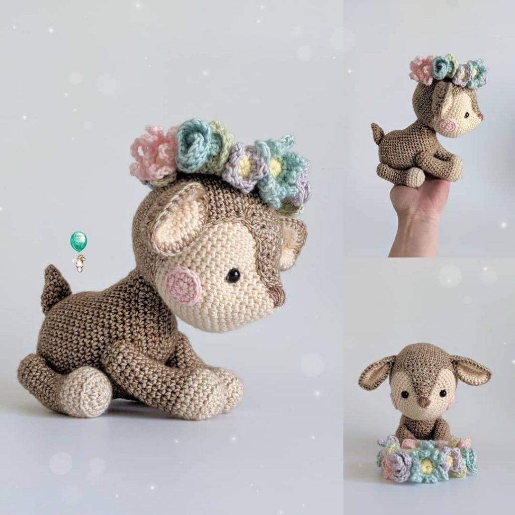 Crochet Deer Amigurumi Free Pattern – Amigurumi