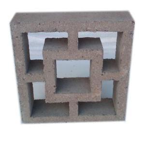 397 12 In X 4 In X 12 In Concrete Decorative Block Dec 397