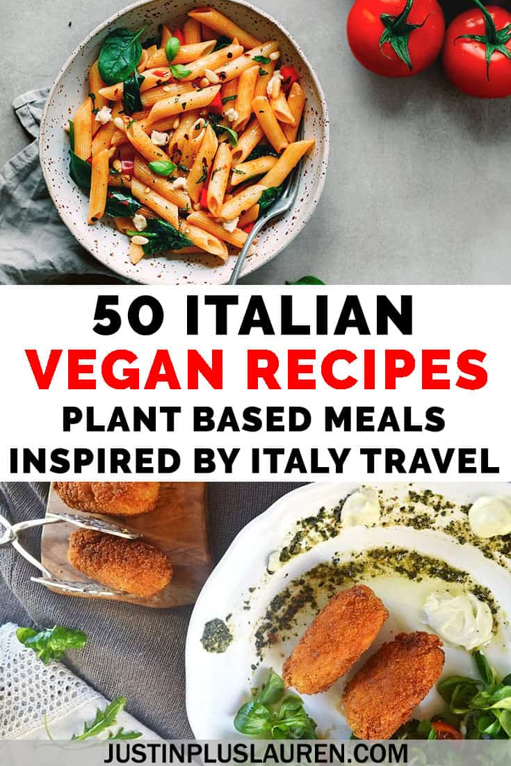 Photo of 50 Vegan Italian Recipes: The Best Plant Based Meals Inspired by Italian Cuisine