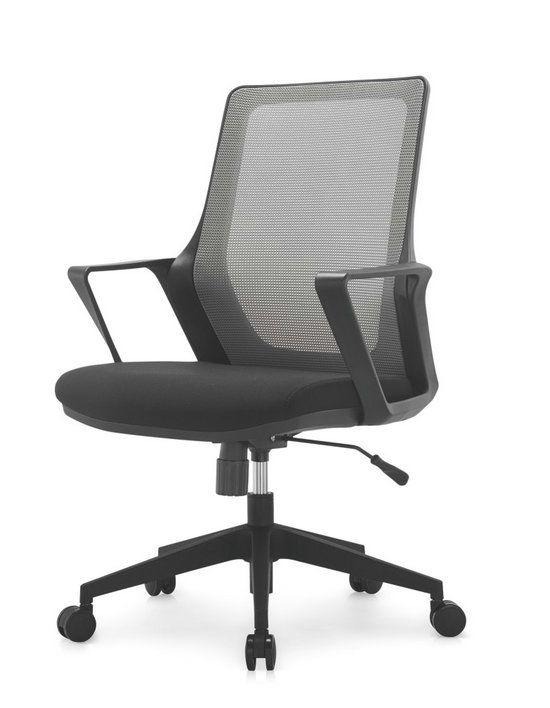 black fabric plastic mesh ergonomic office. Modern Ergonomic Staff Office Black Plastic Mesh Chair Swivel Computer Chairs With Lumbar Support Armchair - Fabric
