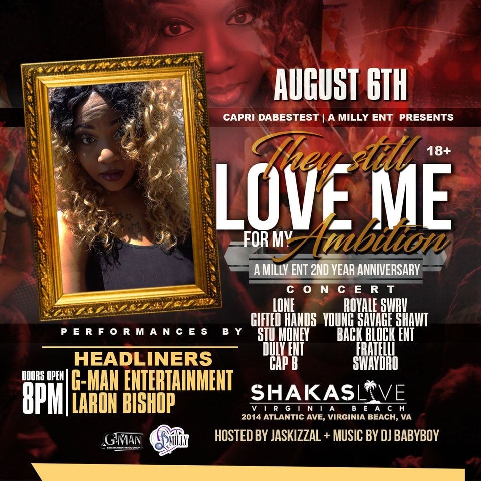 Virginia Beach Aug 6 They Gonna Love Me For My Ambition Virginia