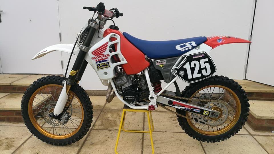 1990 Cr125 Dirtbikes Motorcycle Honda Dirtbikes