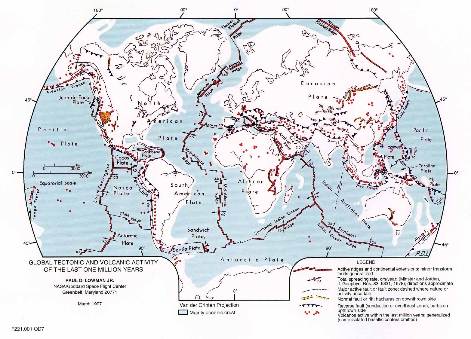 Tectonic Plates In The Us