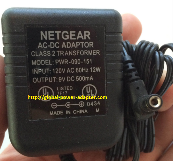 Brand New Netgear 9v Dc 500ma For Router Pwr 090 151 Power Supply Ac Dc Adapter Wall Wart Netgear Acdc Router