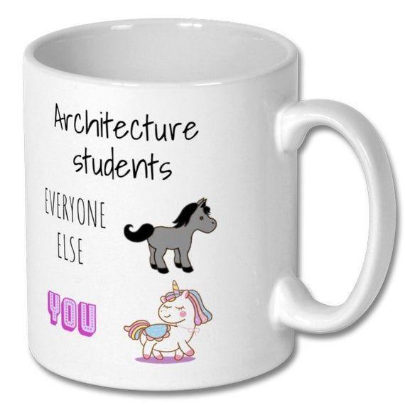 ARCHITECTURE STUDENT HUMOR mug architecture student architecture student mug architecture student gift architecture student present