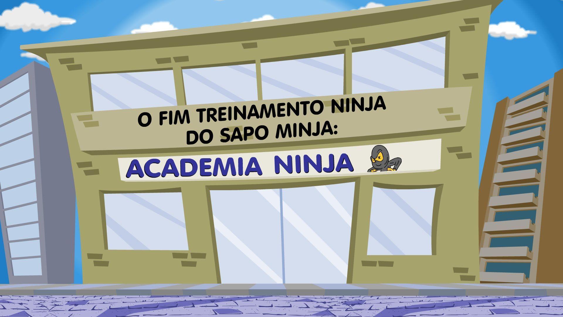 O episódio final do Treinamento Ninja do Sapo Minja