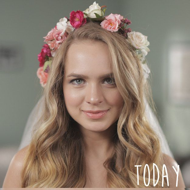 50 Style Wedding Hair: Over 50 Years Of Wedding Hairstyles In Two Minutes