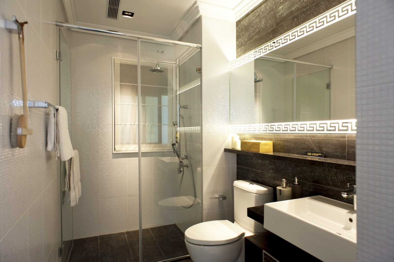 Charmful How To Design Small Bathroom Small Ensuite Bathroom