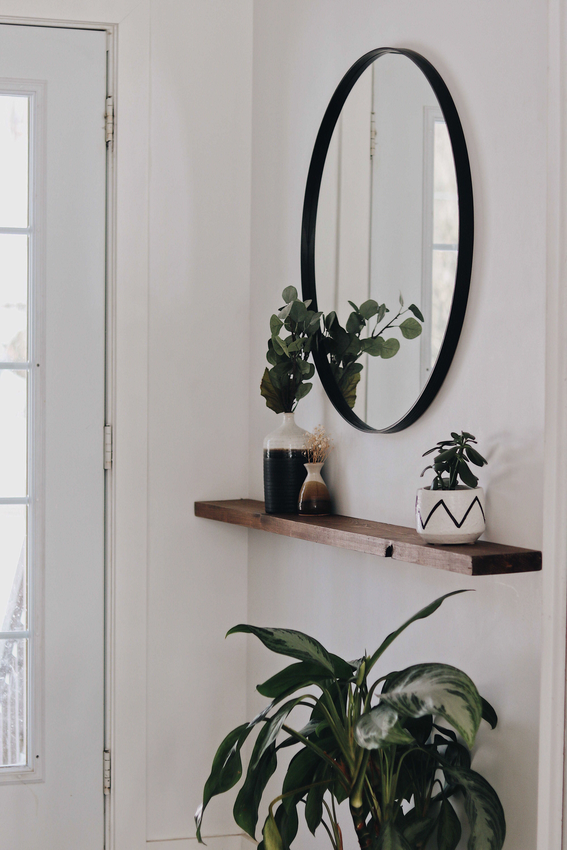 Vestibule minimaliste | Instagram @anniedaoust