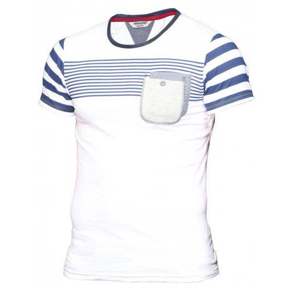 Mish Mash Concept Stripe T-Shirt 100% Cotton