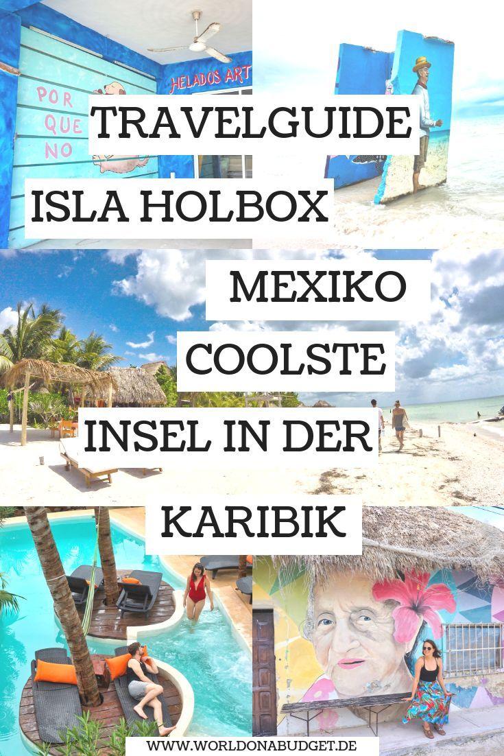 Die Isla #Holbox in #Mexiko ist unsere Lieblingsinsel in der #Karibik. Wir waren insgesamt 3 Mal auf der Insel und haben dir hier einen umfangreichen #Travelguide mit allen Aktivitäten und den tollsten #Restaurants und Eisdielen zusammengestellt. Entdecke in unserem #Reisebericht die Schönheit der #Isla. Jetzt reinklicken!