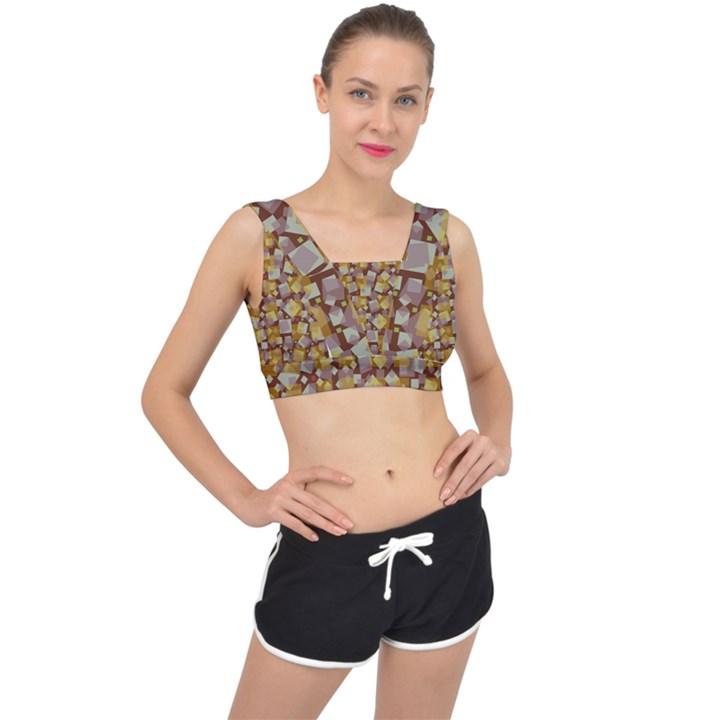 Zappwaits Fantastic V-Back Sports Bra #bra #yoga #SportsBras #sportswear #tank #fitness #cool #onlin...