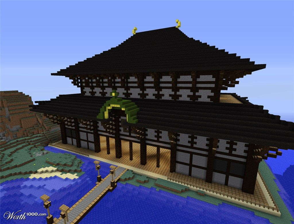 asian style house minecraft - house style